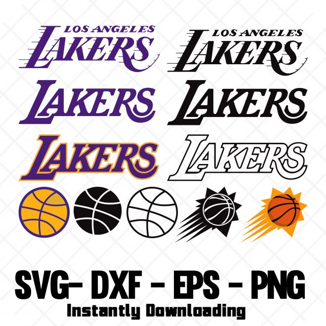 lakers svg