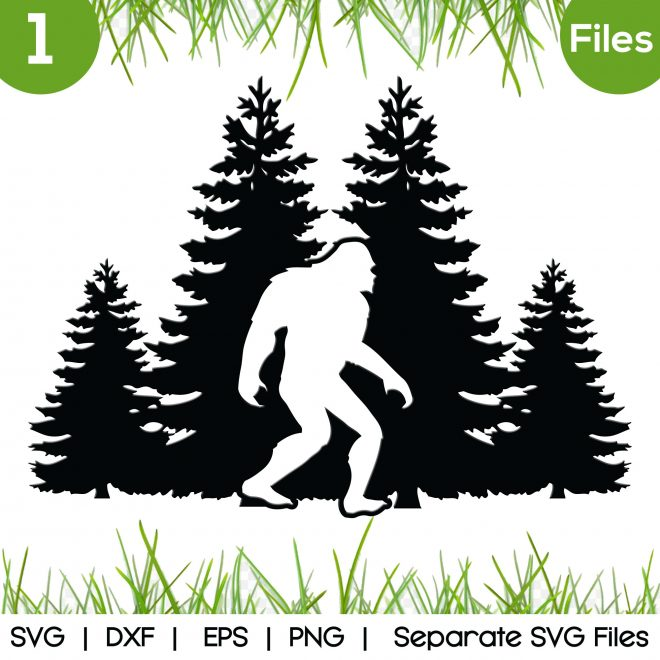 bigfoot svg