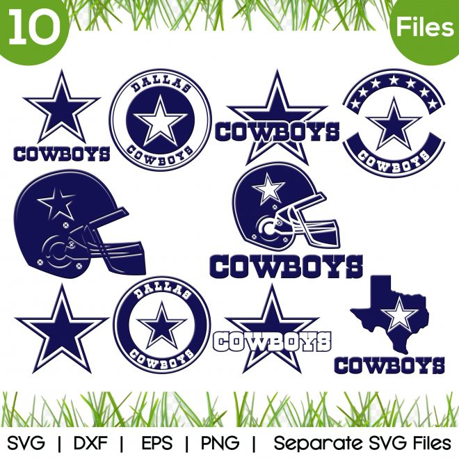 dallas cowboy svg
