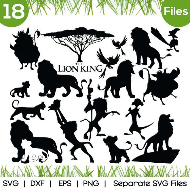 lion king svg
