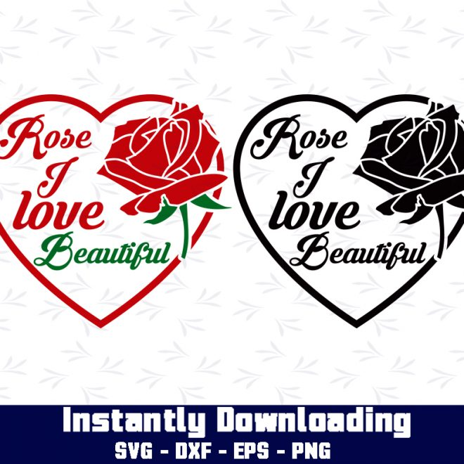rose love svg