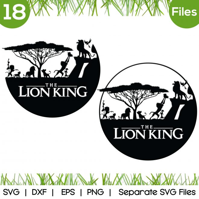 lion king simba svg