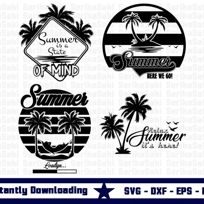 summer design svg