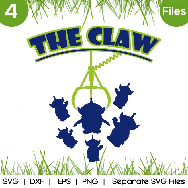 the claw svg