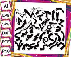 Graffiti-Arrows-Set